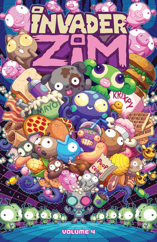Invader Zim Volume 4 TPB - Oni Exclusive