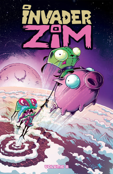 Invader Zim Vol. 8 - Cover B