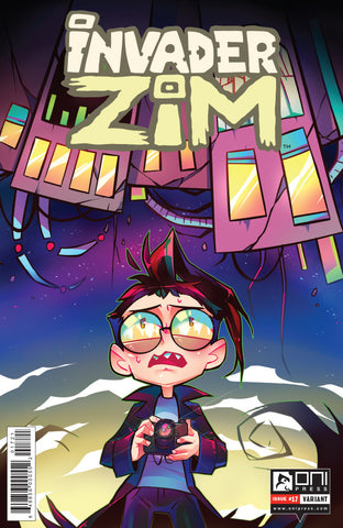 Invader Zim #17 - Incentive Krooked Glasses