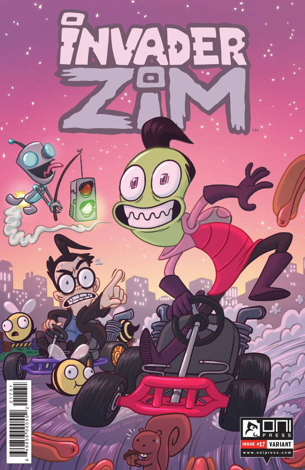Invader Zim #17 - Convention Exclusive