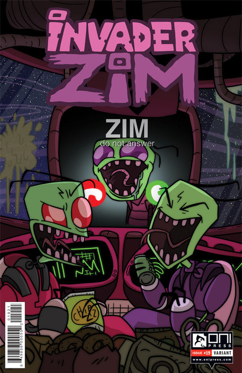 Invader Zim #19 - Incentive KC Green