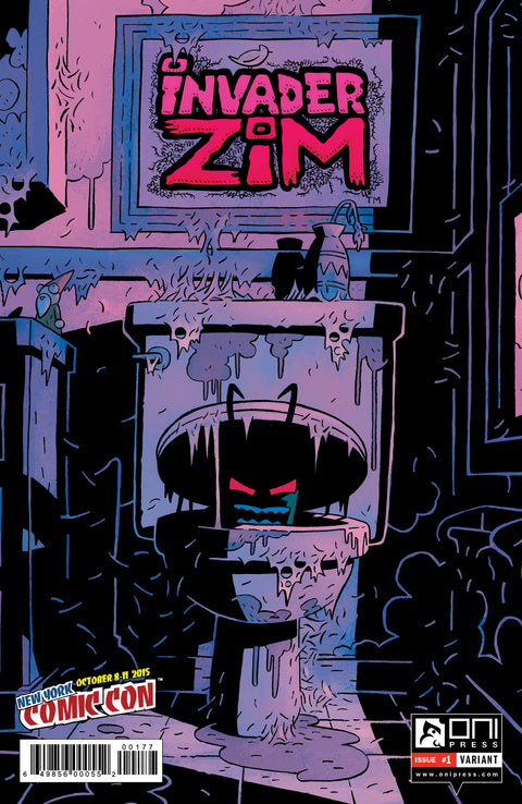 Invader Zim #1 - NYCC 2015 VARIANT (Cover by Andrew Maclean)