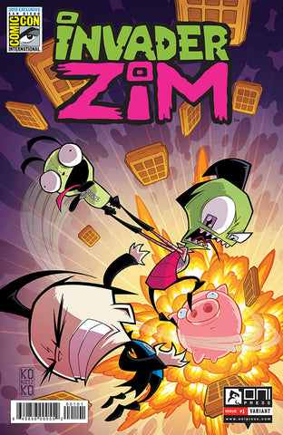 Invader Zim #1 - SDCC 2015 VARIANT (Cover by Bryan Konietzko)