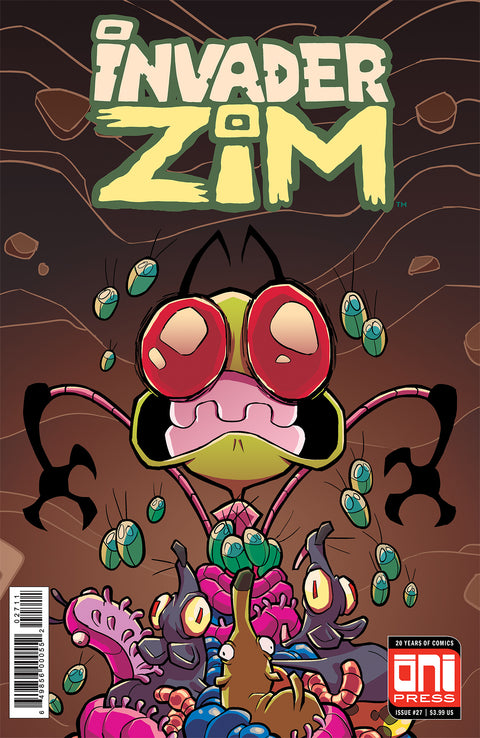 Invader Zim #27 - Cover A