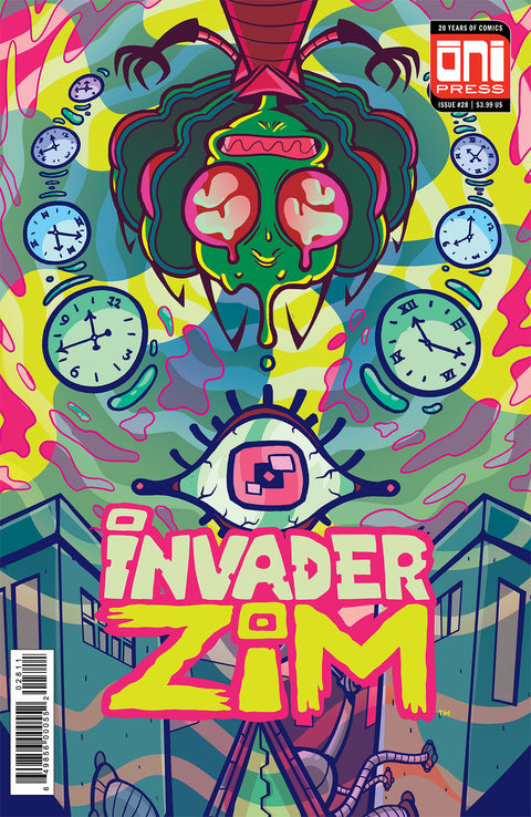 Invader Zim #28 - Cover A