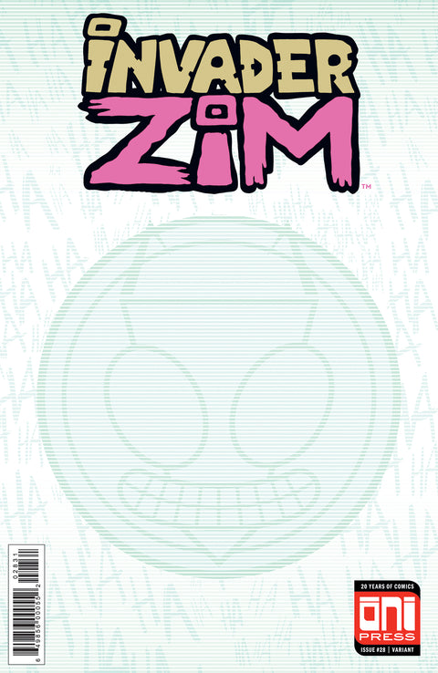 Invader Zim #28 Sketch Cover