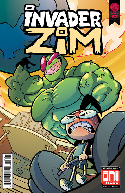 Invader ZIM #32 Cover A