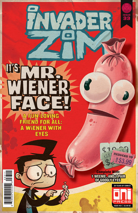 Invader ZIM #33 Cover A