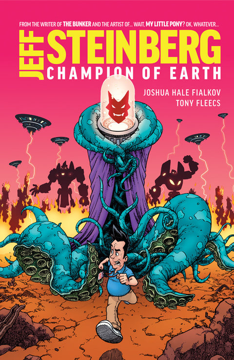 Jeff Steinberg: Champion of Earth #1 - Variant