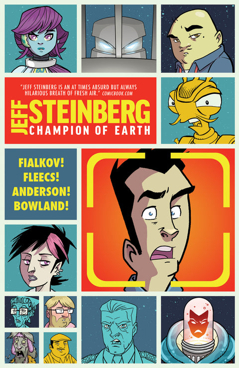 Jeff Steinberg: Champion of Earth TPB