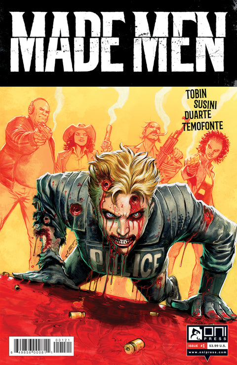 Made Men #1 - Juan Ferreyra variant