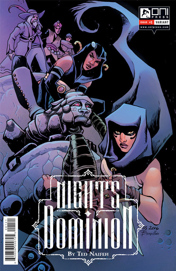 Night's Dominion #1 - Tess Fowler Variant