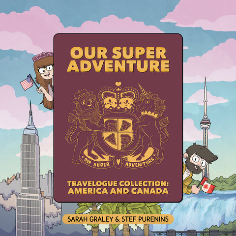 Our Super Adventure Travelogue Collection