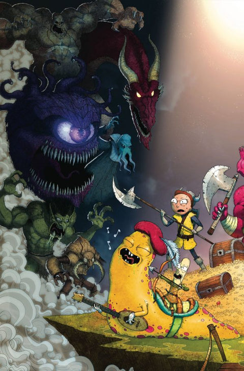 Rick and Morty vs. Dungeons & Dragons #1 - NYCC variant