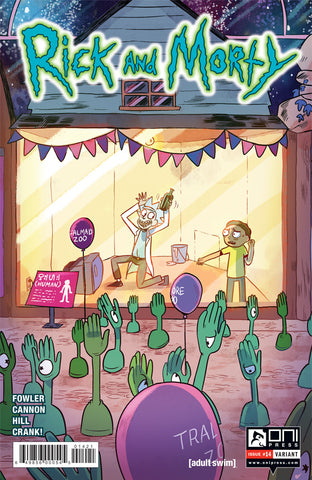 Rick and Morty #14 - Ganucheau Variant Cover