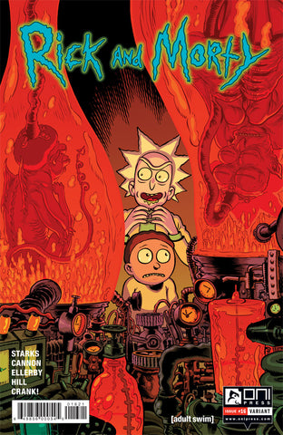 Rick and Morty #16 - Nixey/McCaig Variant Cover