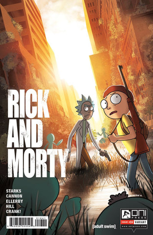 Rick and Morty #16 - Last Of Us Variant