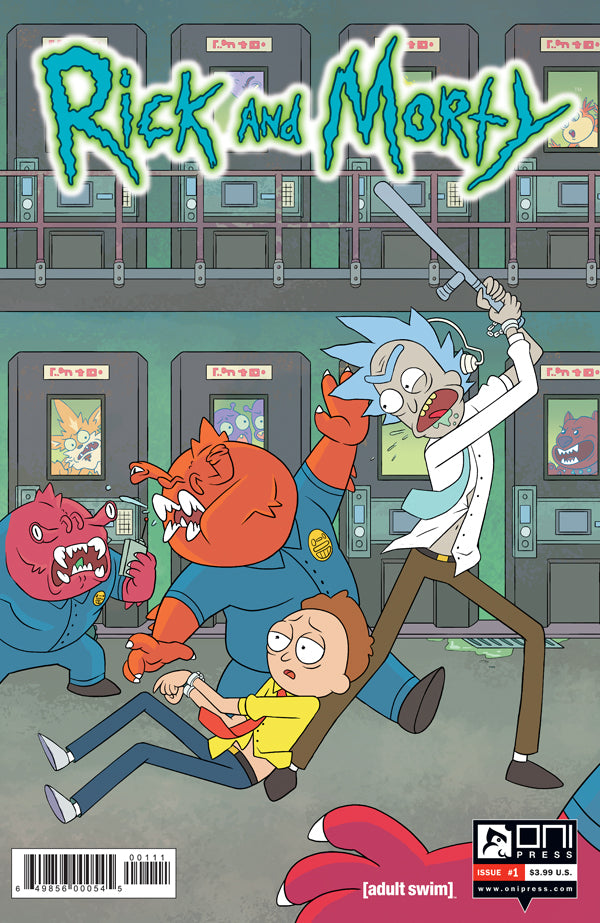 Rick and Morty #1 Lenticular Cover