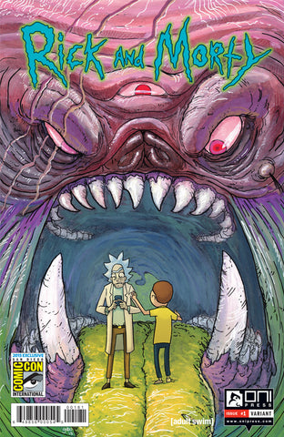 Rick and Morty #1 - SDCC Variant Cover (Gabo)