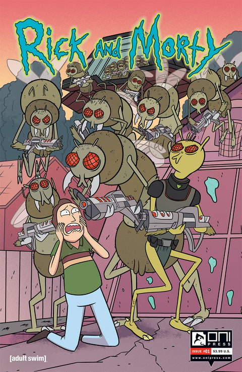 Rick and Morty #1 - Connecting Cover