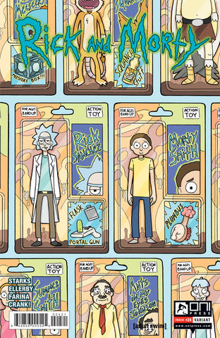 Rick and Morty #24 - Sfé R. Monster Variant Cover