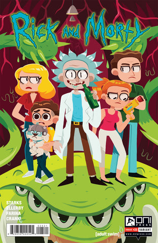 Rick and Morty #25 - Erin Hunting Variant Cover