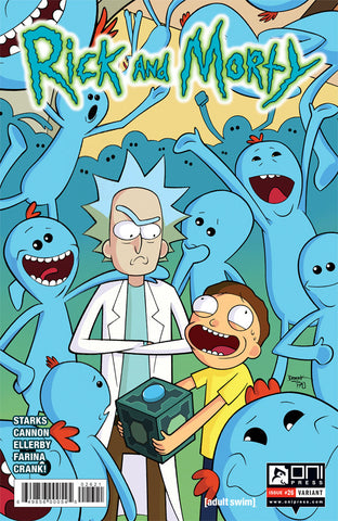 Rick and Morty #26 - Derek Fridolfs Variant Cover