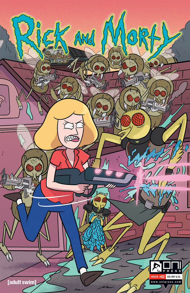 Rick and Morty #2 - Connecting Cover