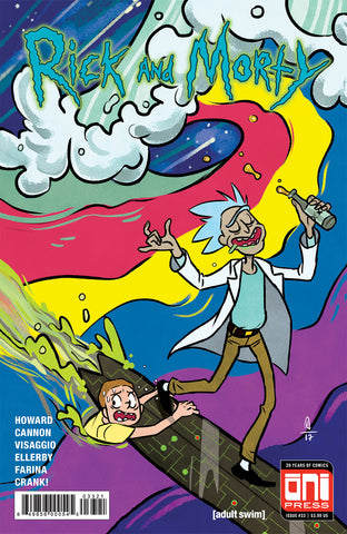 Rick and Morty #33 - Cover B