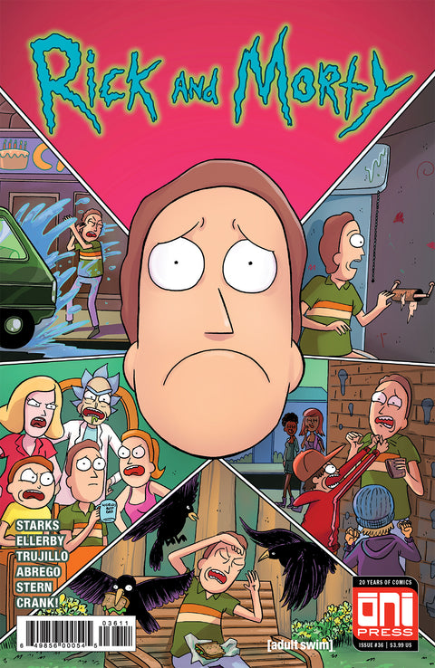 Rick and Morty #36 - Cover A