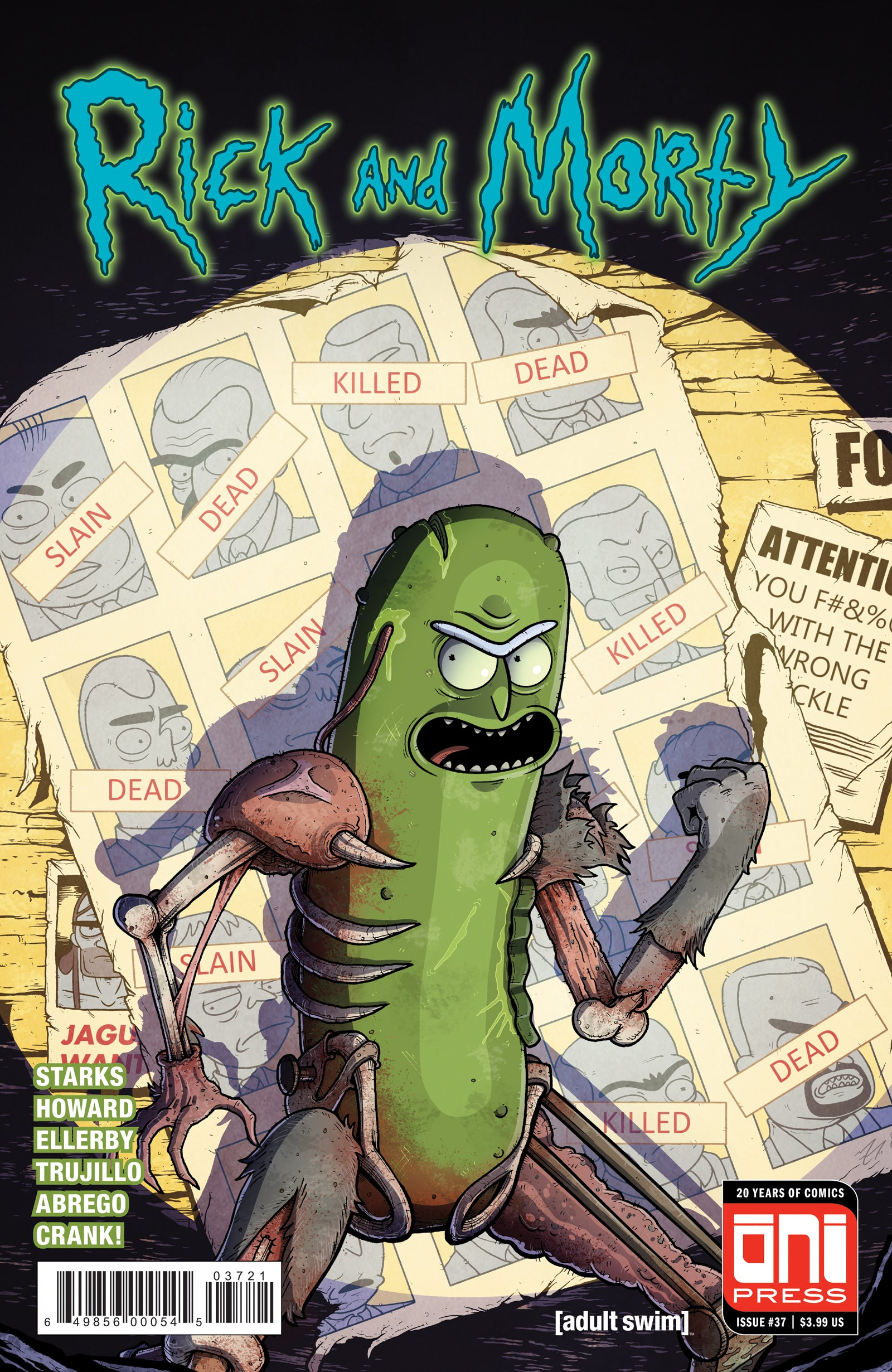 Rick And Morty 37 Cover B