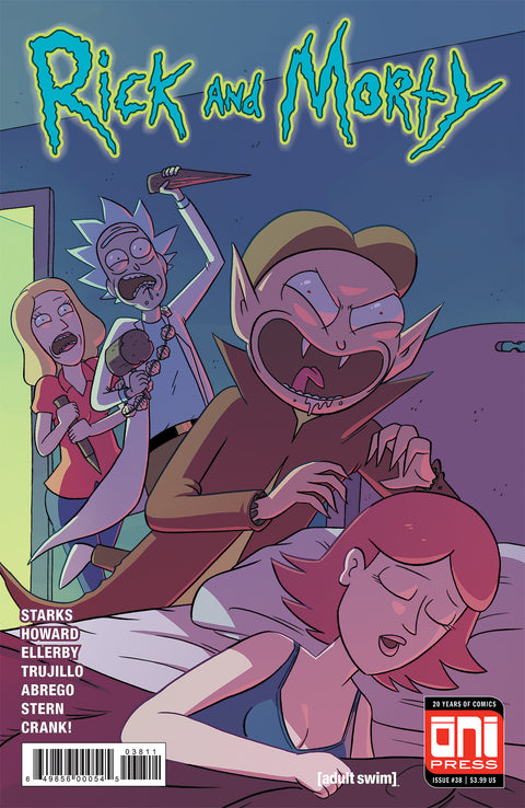 Rick and Morty #38 - Cover A