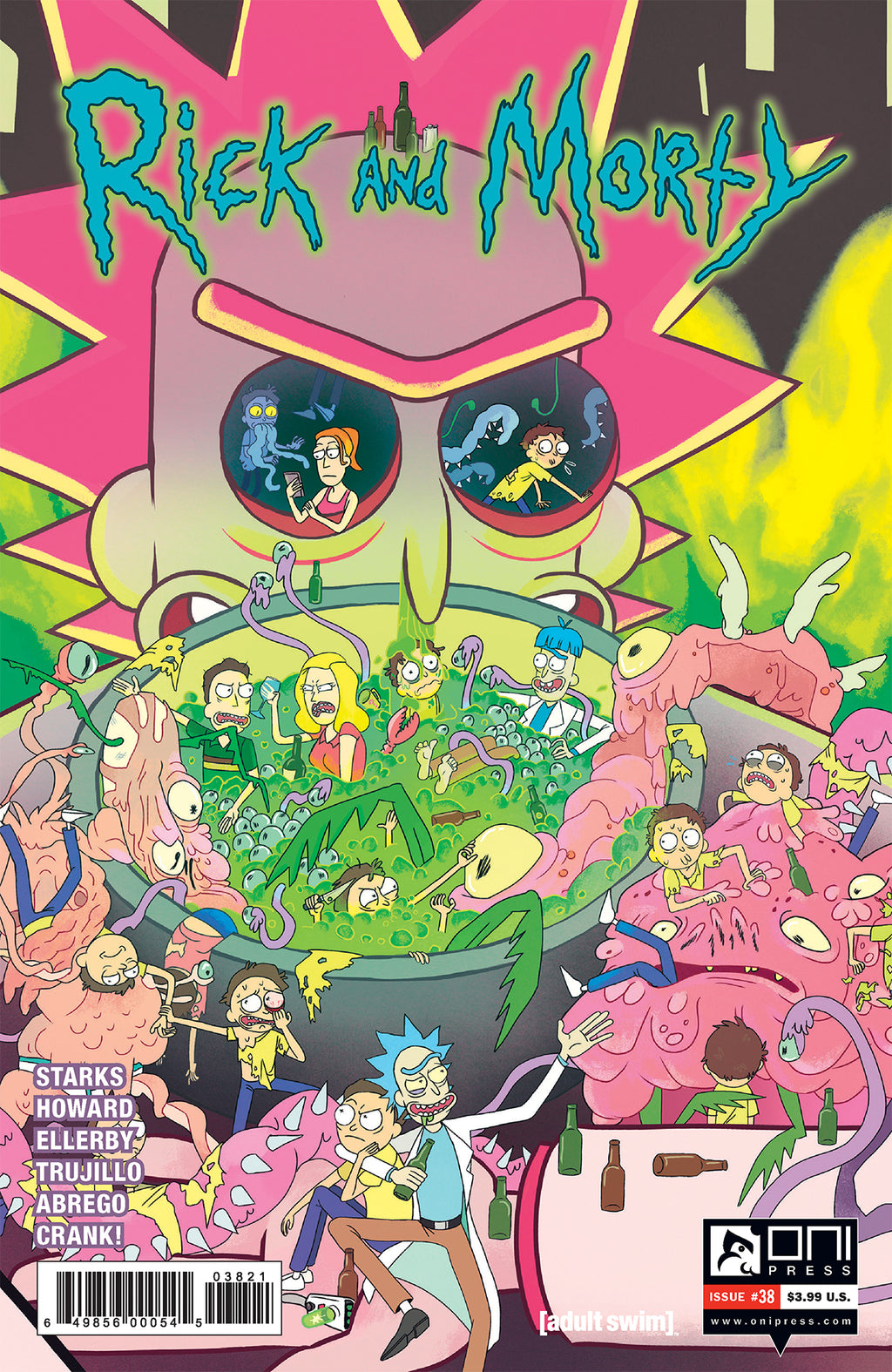 Rick and Morty #38 - Cover B