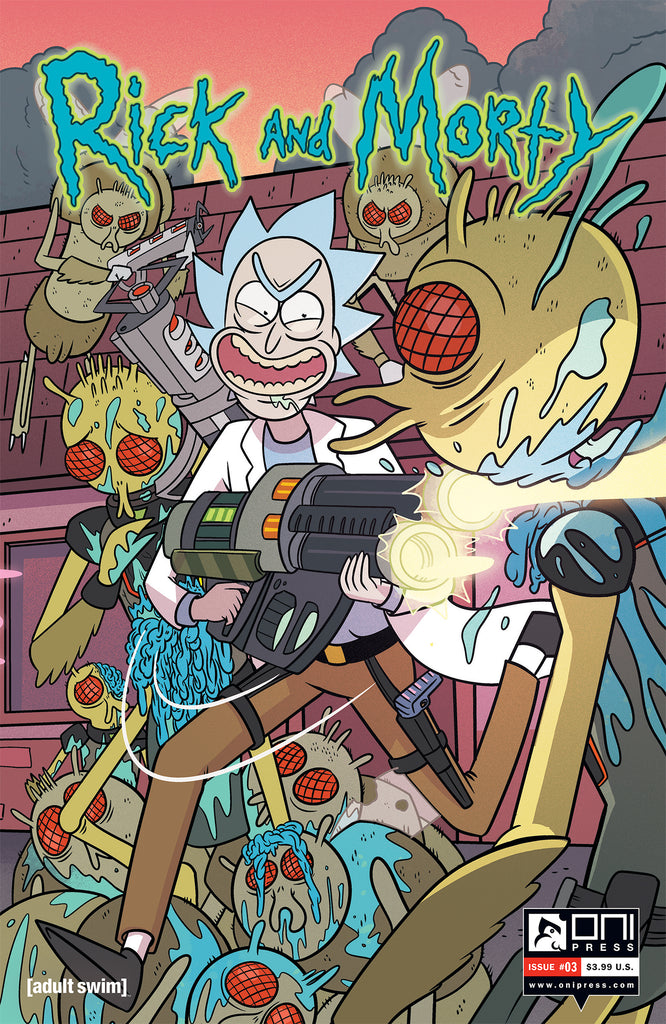 Rick and Morty #3 - Connecting Cover