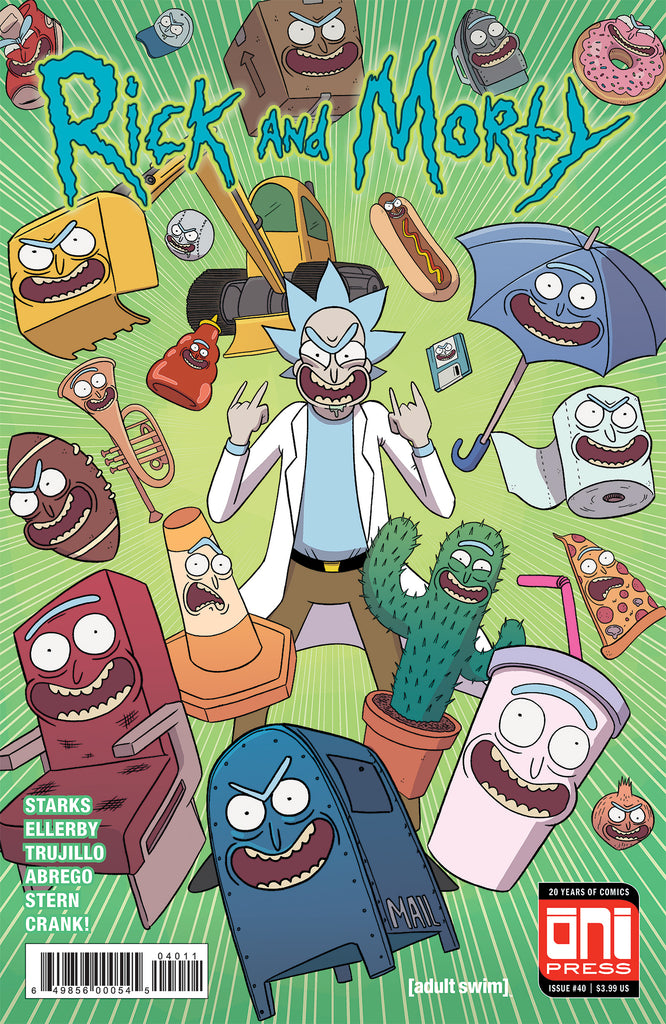 Rick and Morty #40 Cover A