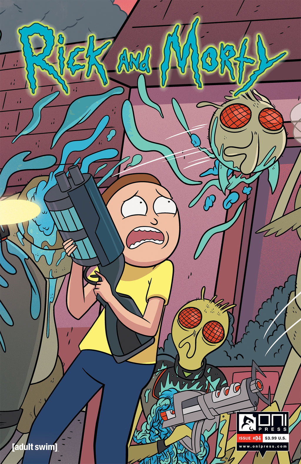 Rick and Morty #4 - Connecting Cover