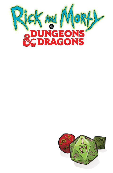 Rick and Morty vs. Dungeons & Dragons #1 Sketch Cover