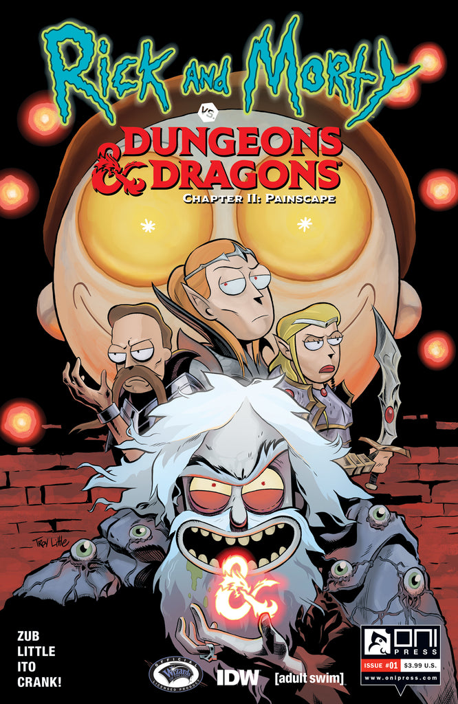Rick and Morty vs. Dungeons & Dragons II: Painscape #1