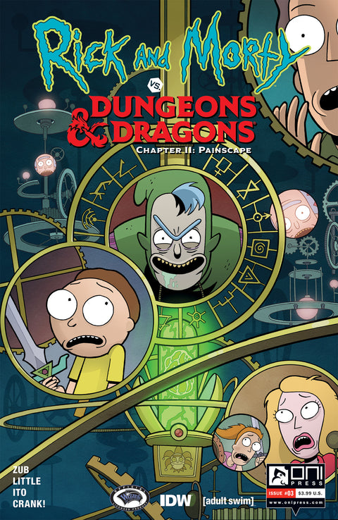 Rick and Morty vs. Dungeons & Dragons II: Painscape #3