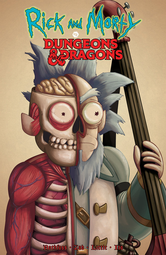 Rick and Morty vs. Dungeons & Dragons - Oni Exclusive