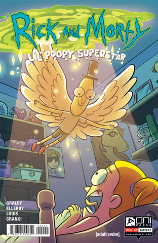 Rick and Morty: Lil' Poopy Superstar #2 - Variant Cover