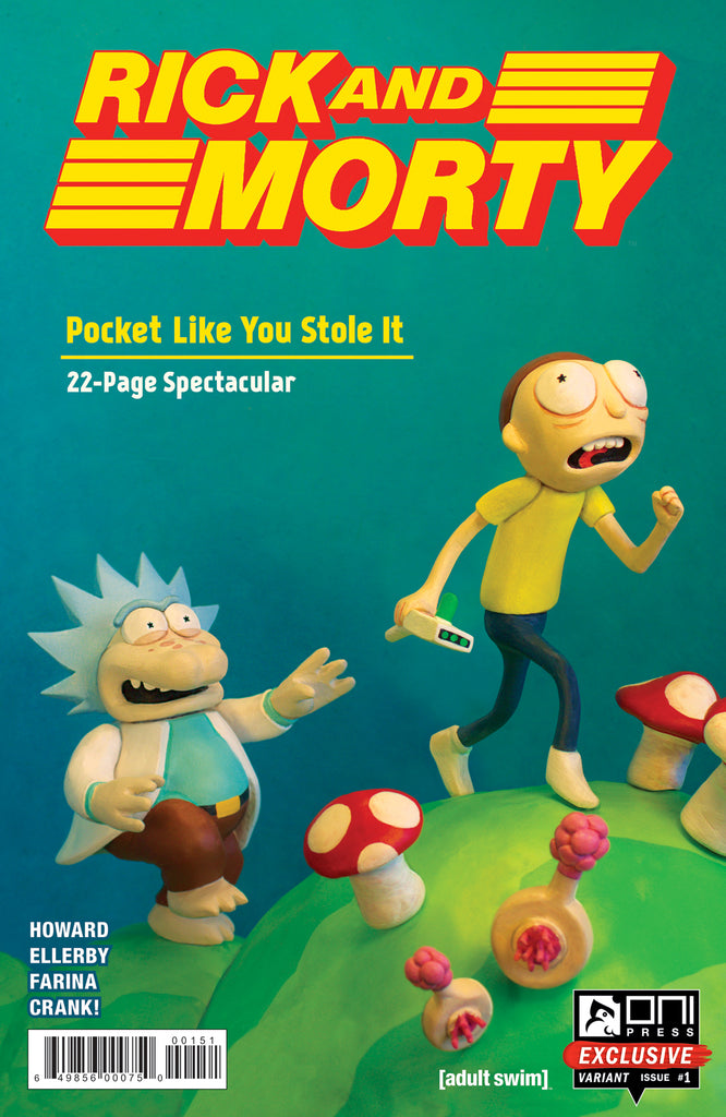 Rick and Morty: Pocket Like You Stole It #1 - Oni Exclusive Gaming Convention Variant