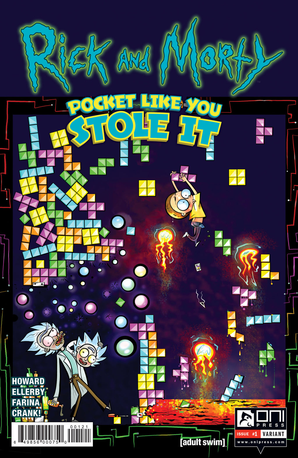 Rick and Morty: Pocket Like You Stole It #1 - Cover B