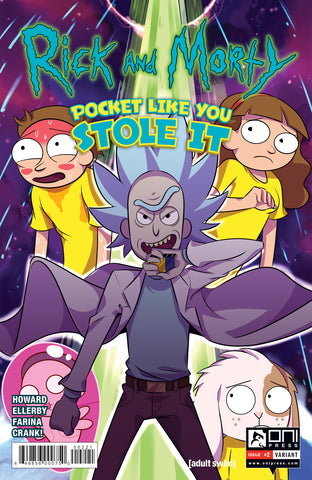 Rick and Morty: Pocket Like You Stole It #2 - variant cover
