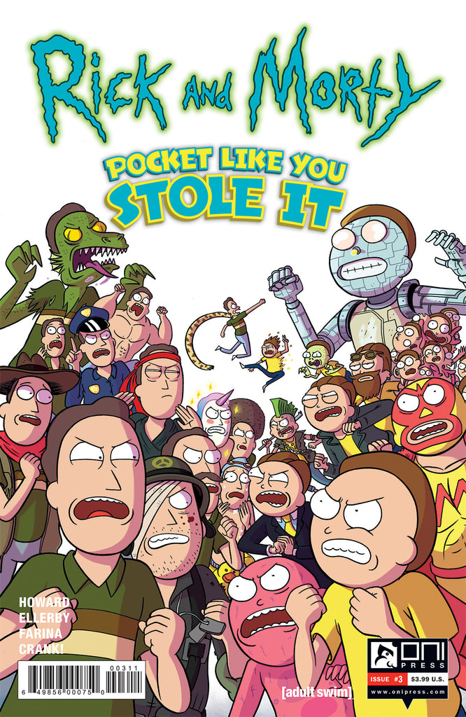 Rick and Morty: Pocket Like You Stole It #3