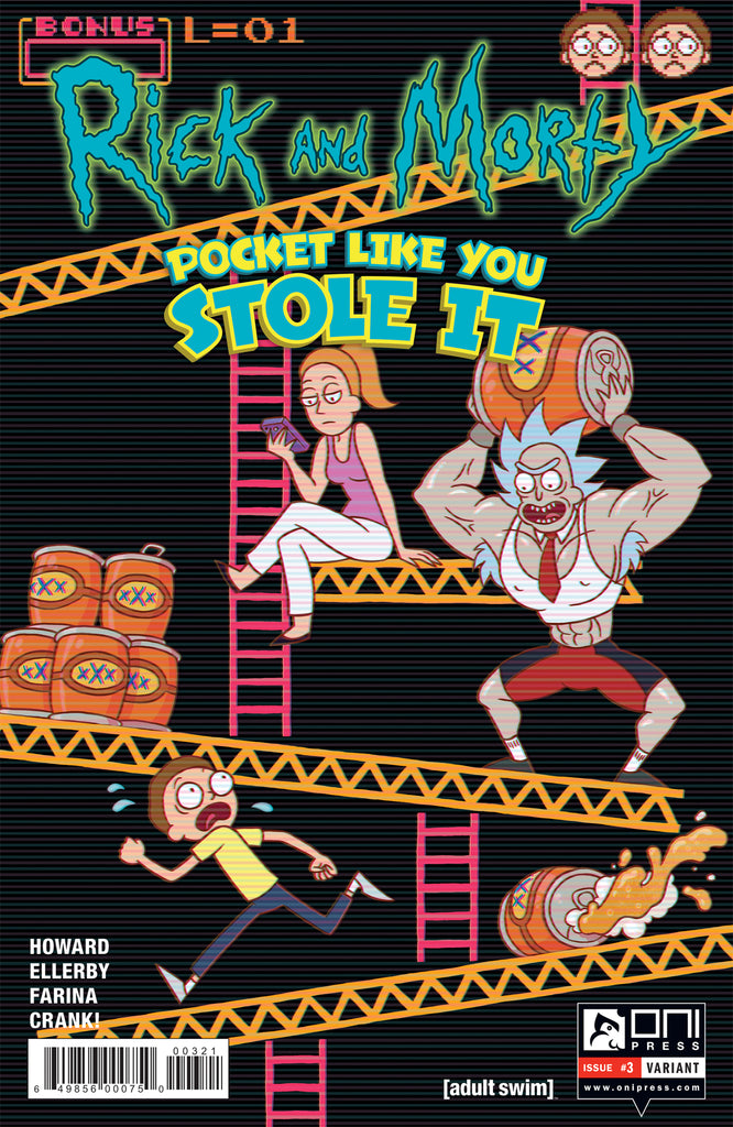 Rick and Morty: Pocket Like You Stole It #3 - Josceline Fenton