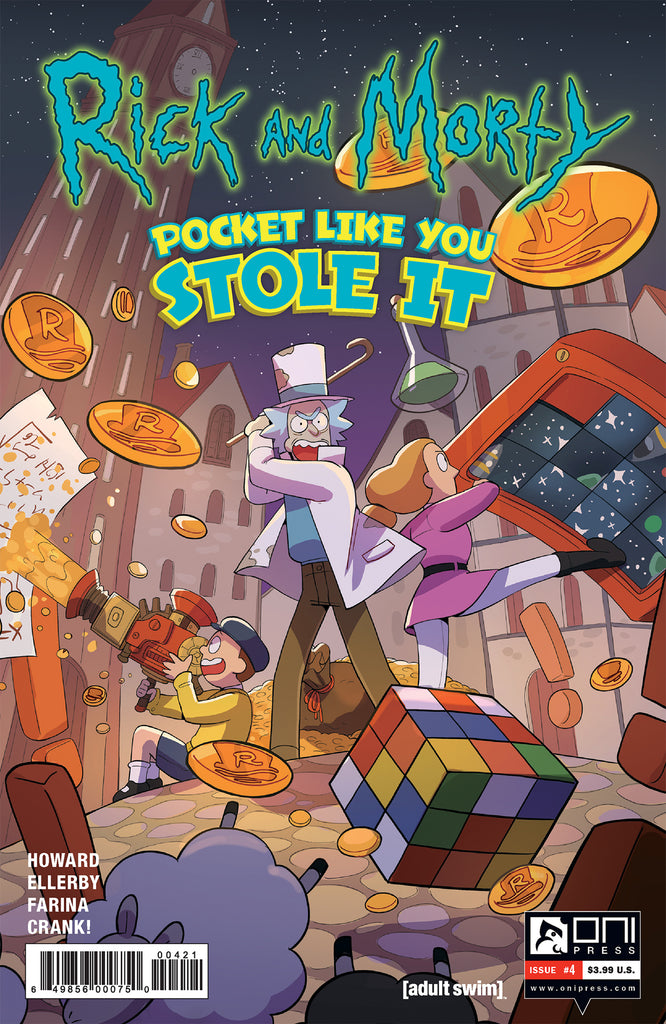 Rick and Morty: Pocket Like You Stole It #4 - Costas variant