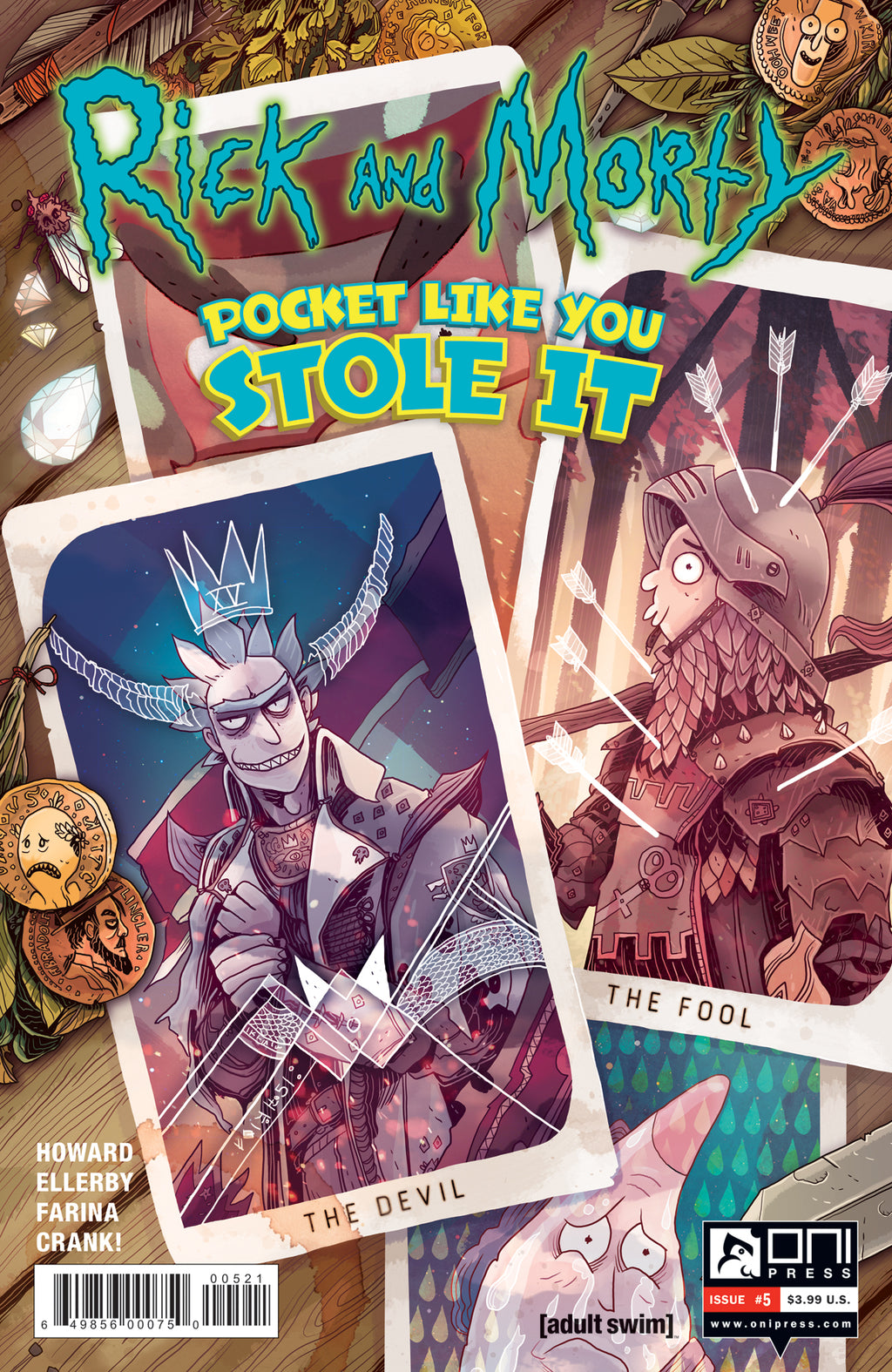Rick and Morty: Pocket Like You Stole It #5 - Cover B
