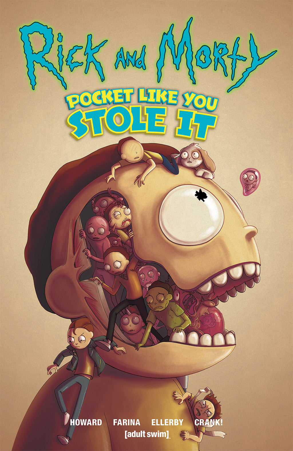 Rick and Morty: Pocket Like You Stole It Oni Exclusive