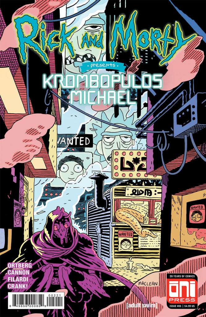 Rick and Morty Presents: Krombopulos Michael #1 Cover B